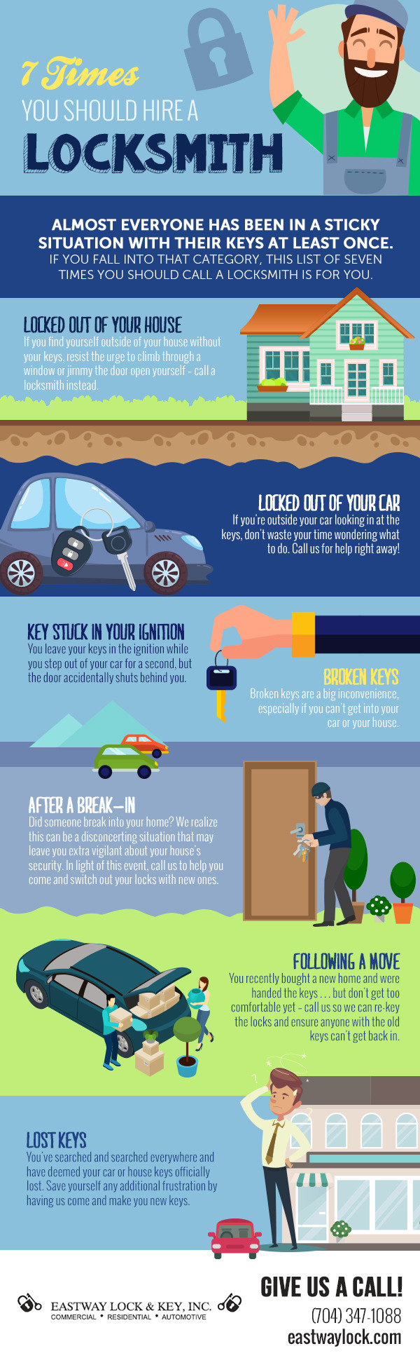 Tips why you should hire locksmith